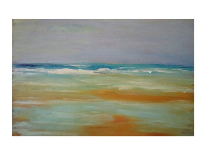 Marina en abstracción